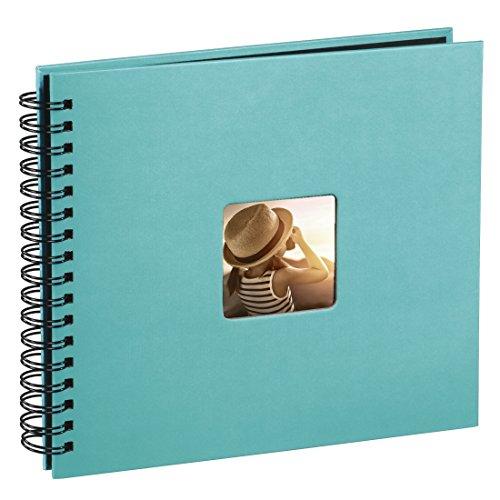 Hama Fine Art - Álbum de fotos, 50 páginas negras (25 hojas) para pegar fotos,...