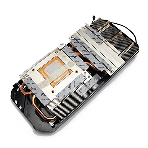 Jinyouqin GAA8S2U FD10015H12s 12V 0.45A 4Pin GTX 1080 Ti Kühlerlüfter für palit GeForce GTX 1080TI Super Jetstream Grafikamm Kühler (Blade Color : Radiator)