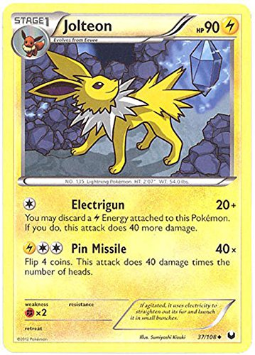 Pokemon - Jolteon (37/108) - BW - Dark Explorers
