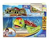 Goliath 32828 Robo-Turtle | Spielset Wasserschildkröte, Aquarium, Felsen | Gigantischer Wasserspaß auch in der Badewanne | Lebensechte Bewegungen auf dem Land und im Wasser -