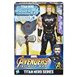 Avengers: Infinity War - Thor Titan Hero Power FX (Personaggio 30 cm, Action Figure), E0616103