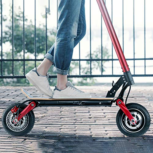 EléctricoScooter, Plegable, Patinete Scooter Eléctrico Inteligente de Alta Potencia de 500 W,...