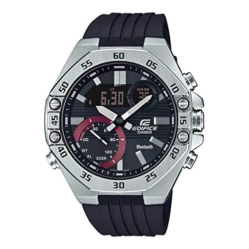 Casio Edifice Bluetooth Chronograph Black Dial Men's Watch - ECB-10P-1ADF(ED495)