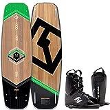 CWB WOODRO Wakeboard Flex Board Grindbase Cable Wakeboard-Set Bindung 140cm