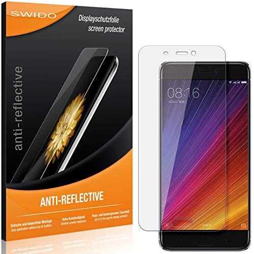 Swido - Pellicola protettiva antiriflesso per Xiaomi Mi 5s, confezione da 2 pezzi