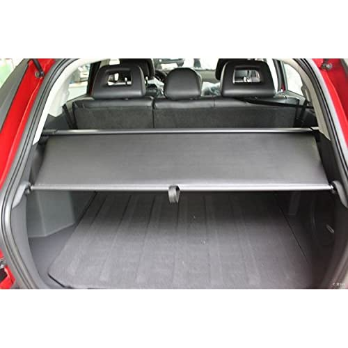 Worth-Mats Retractable Cargo Cover Security Shade for Dodge Caliber Models - Black