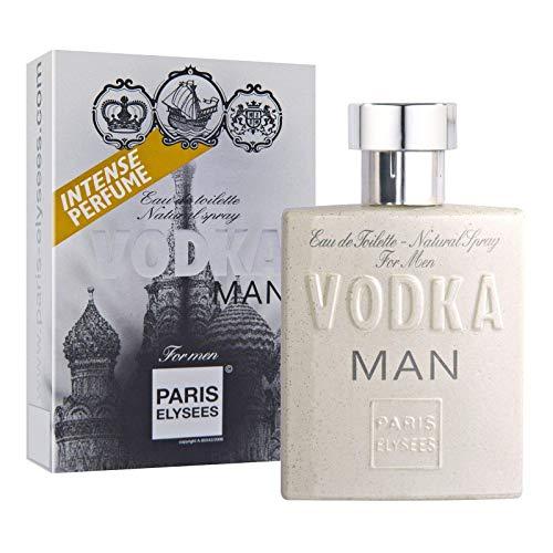 Eau de Toilette Vodka Man, Paris Elysees, 100 ml