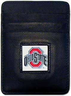 NCAA Ohio State Buckeyes Leather Money Clip/Cardholder Wallet