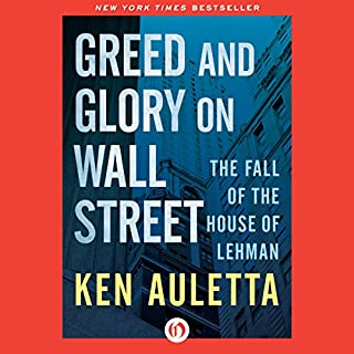 Greed and Glory on Wall Street cover art