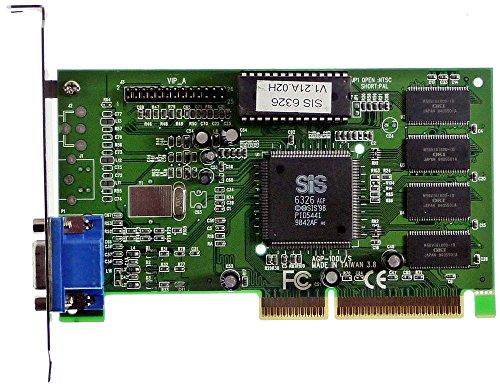 AGP-Grafikkarte SiS 5598/6326 ID402