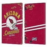 Head Case Designs Licenciado Oficialmente NFL Casco Distressed Look 100th Arizona Cardinals Logo Art...