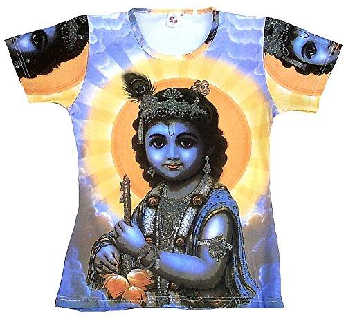 TICILA -  T-Shirt - Donna Blu 44/46