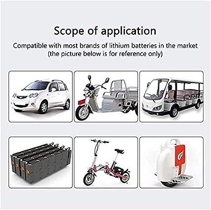 Adaptateur Secteur 67.2V 5A Size : A Entr/ée De Chargeur 100-240 V Adaptateur Lithium Li-ION Li-Poly pour V/élo /Électrique Scooter//Hoverboard CRTY Chargeur De Scooter /Électrique