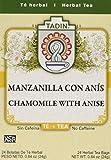 Tadin Tea Chamomile With Anise 24 Bags - Te De Manzanilla Con Anis