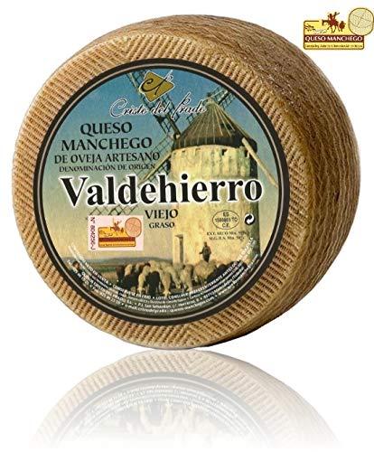 Queso Manchego Artesano Viejo Valdehierro (añejo) 3 Kg. aprox.