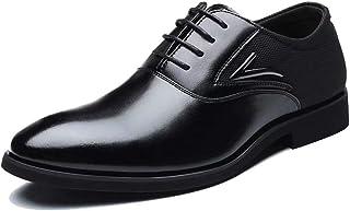 [Bageson] ビジネスシューズ メンズ 本革 紳士靴 革靴 ストレートチップ 内羽根 営業マン オールシーズン 通気性 防滑 24-28cm