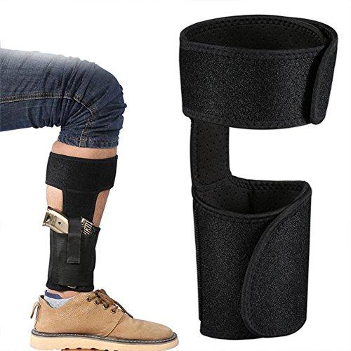 Oarea - Funda táctica militar multifuncional para piernas, material compuesto de buceo universal para airsoft, funda para acampada, Bk
