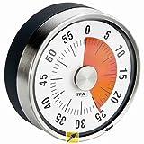 TFA puck, Kunststoff, Grau, (L) 79 x (B) 32 x (H) 79 mm, 118
