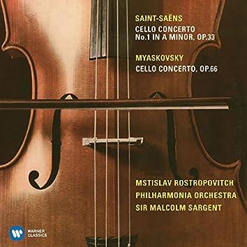 Saint-Saëns: Cello Concerto No. 1 & Miaskovsky: Cello Concerto