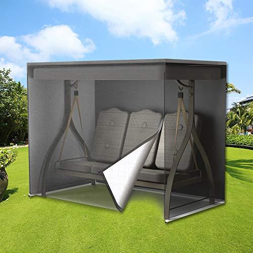 Windyeu Funda para Balancín, Fundas para Muebles de Jardín, Protecrora de Columpio, Impermeable, Anti Rayos UV, 220 x 145 x 170 cm