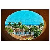 Trinidad y Tobago Puzzle 1000 Piezas para Adultos Familia Rompecabezas Recuerdo Turismo Regalo