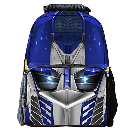 51e4bFbDEvL - Transformers Mochila para niños Cómoda Bolsa de Viaje versátil Estudiante Moda Mochila (Color : A01, Size : 42 X 29 X…