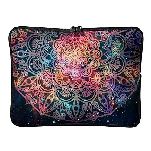 Standard Gradient Royalblue Laptop Bags Casual Expandable - Bohemian Romantic Laptop Bag Suitable for Indoor Use