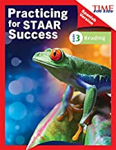 TIME FOR KIDS® Practicing for STAAR Success: Reading: Grade 3 (Spanish Version) (Classroom Resources) (Spanish Edition)