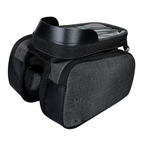 Qomili stuurtas met grote inhoud, 5 l, met gevoelig touchscreen, waterdicht, geschikt voor Smart 6,5 inch