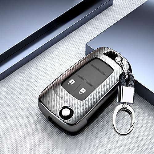 Funda para llave de coche de ontto para Opel Astra Corsa Insignia Karl Mokka Zafira Chevrolet Aveo S