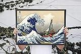 Zelda Poster - Wind Waker Great Wave off Kanagawa - Legend of Zelda