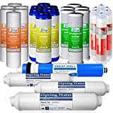 iSpring F28K75 3-Year Replacement Filter Set for 6-Stage Alkaline Reverse Osmosis Water Filter