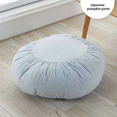 YDMR Simple outdoor seat pads Effen kleur tuinstoel zitkussens met Rits gevoerde kussens voor eetstoelen 100% katoen Afneembare zitkussens voor keukenstoelen 45x45