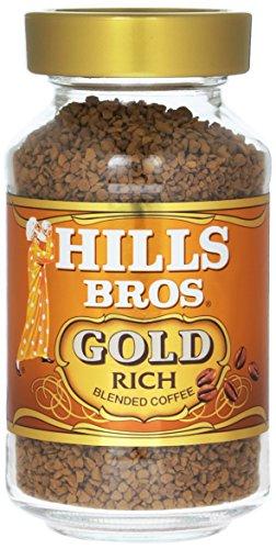 ヒルス インスタントコーヒー ブレンドゴールド 瓶 90g