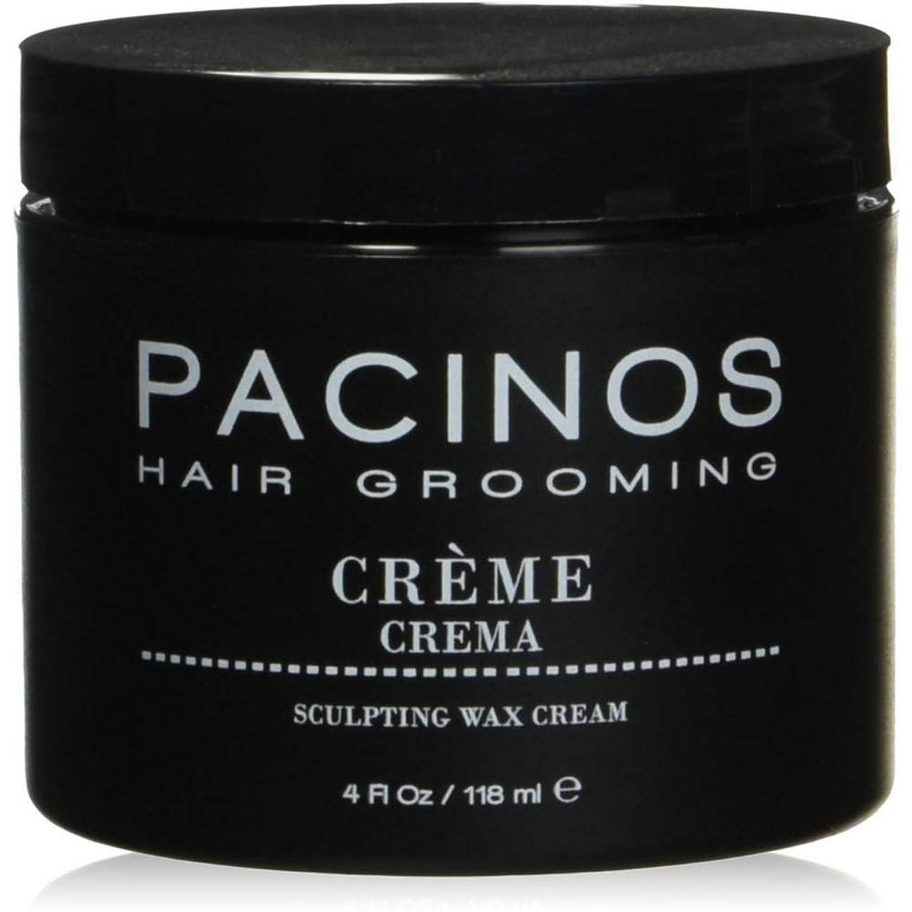 ほとんどの場合販売員振るうPacinos Grooming Elegance Creme, Sculpting Wax Cream 4oz by Pacinos [並行輸入品]
