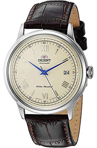 Orient Reloj Analógico para Unisex Adultos de Automático con Correa en Cuero FAC00009N0
