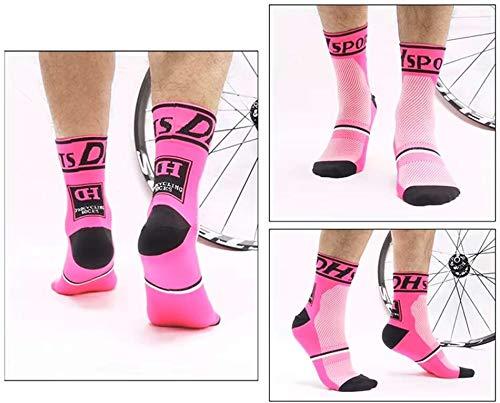 tama/ño 6-11 compresi/ón de arco acolchada correr alto rendimiento sin ampollas gimnasio trazado para ciclismo Calcetines de ciclismo para hombre senderismo transpirables