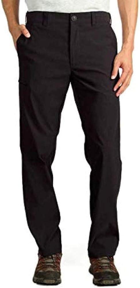 UNIONBAY UB Tech Men's Classic Fit Comfort Waist Chino Pants: Clothing