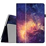 Fintie Case for Dragon Touch 10 inch K10 / Notepad K10 / Max10 Tablet, Premium PU Leather Stand Cover Compatible Lectrus 10.1, Victbing 10, Hoozo 10, Winsing 10, ZONKO 10.1 Android Tablet, Galaxy