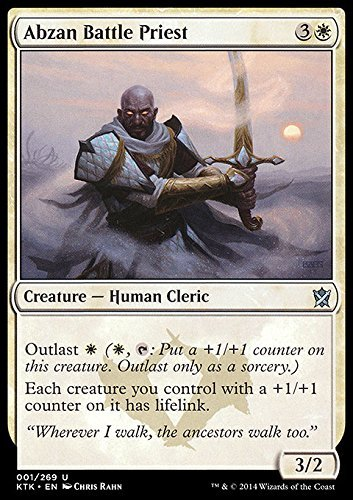 Magic The Gathering - Abzan Battle Priest (1/269) - Khans of Tarkir