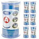 Intex - 6 cartouches de filtration 'A'