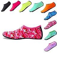 INTERESTPRINT Mens Water Sports Shoes Mother Child Sleep Barefoot Quick Dry Aqua Socks