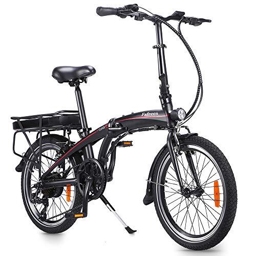 Fafrees Bicicletta Elettrica Pieghevole da 20 Pollici, Bicicletta Elettrica 250W 36V 10AH/7.5AH velocità Massima 25km/h Ideale per Donne e Anziani (Carica Rapida e Consegna Rapida)