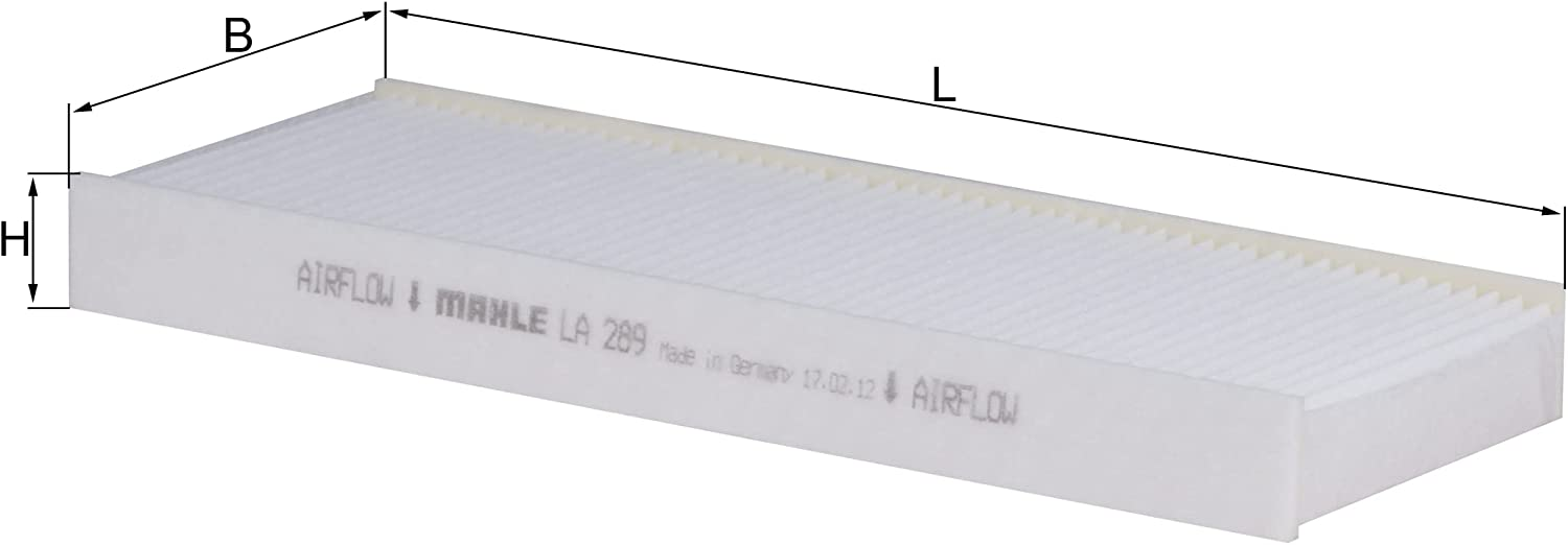 MAHLE LA ! Super beauty product restock quality top! 289 Filter Air Cabin Surprise price