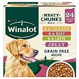 Winalot Dog Food, Mixed in Jelly, 24 x 100g