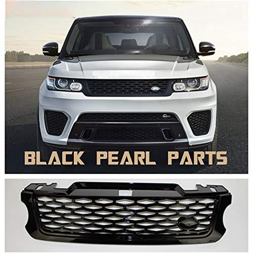 LSYBB SVR Estilo Delantero ABS Medio Parrilla para Land Rover Range Rover Sport Car vehículo 2014-2017 año