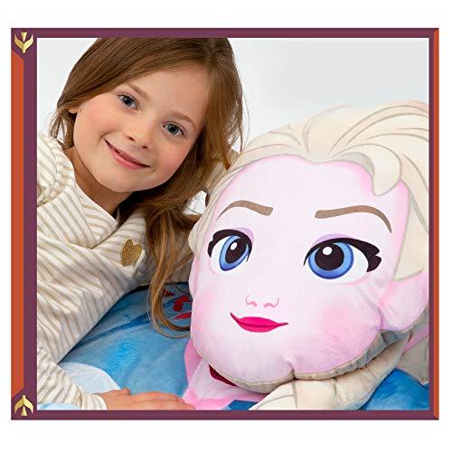 Giochi Preziosi Disney Frozen 2 Elsa, Grande e Morbido, Facile da Piegare e Trasportare