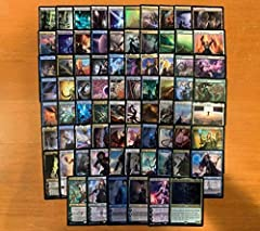 100 card custom Magic the Gathering Mono Planeswalker Commander/EDH deck. Commander is Atraxa, Praetor's Voice This deck features 22 different planeswalkers to provide you with incredibly strong and varied win conditions. The deck also features proli...
