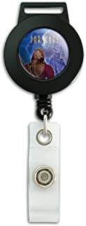 Farscape Crew Zhaan and Ka D'Argo Aliens Lanyard Retractable Reel Badge ID Card Holder