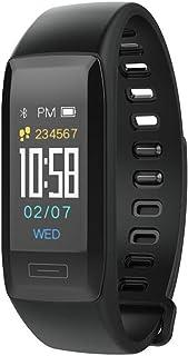 LTLJX Pulsera Actividad Reloj Inteligente Mujer Fitness Tracker Niños Hombres Podómetro Reloj Deportivo Monitor de Sueño Pulsómetros Contador de Calorías Pasos Cronómetros para iOS Android,Negro